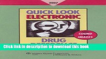 [PDF]  Quick Look Electronic Drug Reference 2007  [Read] Full Ebook