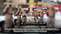 Ghostbusters scare up UK box office Short News