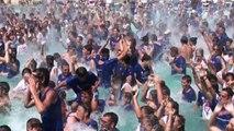Ballo da record ad Aquafan di Riccione: in 4mila in acqua
