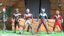 """Ultraman Hero Special Show"" X / zero / Victory / mirror Night / Glen Fire / Belial appeared!"