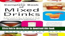 Read The Complete Book of Mixed Drinks: Over 1,000 Alcoholic and Non-Alcoholic Cocktails (Drinking