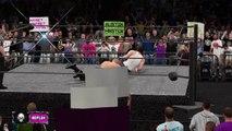 WWE 2K16 stone cold steve austin v dean ambrose highlights