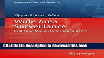 Read Wide Area Surveillance: Real-time Motion Detection Systems (Augmented Vision and Reality)
