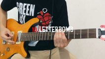Green Day - 10. Letterbomb Guitar Cover (HD, HQ)