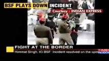 Fight At Wagah Border Between Pakistani Solider and Indian Army Solider 14 August 2016
