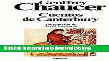 Download Cuentos de Canterbury/ Tales of Canterbury (Clasicos Universales Planeta) (Spanish