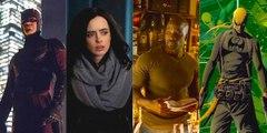 All Marvel Netflix SDCC Teaser Trailers:  IRON FIST, LUKE CAGE, JESSICA JONES, DAREDEVIL and THE DEFENDERS - NETFLIX