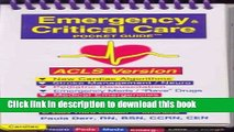 PDF Emergency   Critical Care Pocket Guide, Acls Version [PDF] Full Ebook