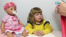 ✔ Кукла Беби Борн. Девочка Ника распаковывает одежду для своей игрушки / Видео для детей / Baby Born