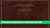 Download Evidence: Cases and Materials PDF Free