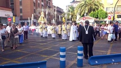 Traslado Virgen del Carmen del Perchel a la Catedral. Málaga, 17 julio 2016 (2) B