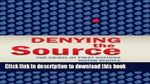 [PDF]  Denying the Source: The Crisis of First Nations Water Rights  [Read] Full Ebook