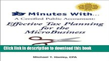 Read Books 30 Minutes With...A Certified Public Accountant: Effective Tax Planning for the