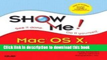 Read Show Me! Mac OS X, V103 Panther (04) by Anderson, Andy - Johnson, Steve - Inc, Perspection