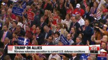 Donald Trump accepts Republican Party presidential nomination