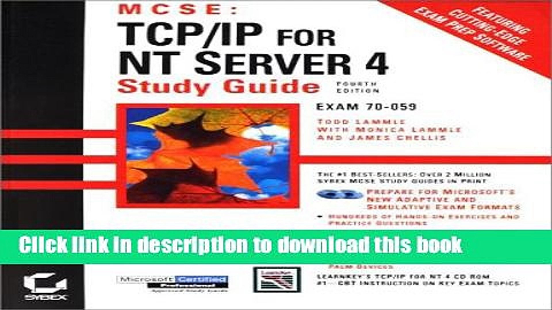 Download MCSE: TCP/IP for NT Server 4 Study Guide PDF Free