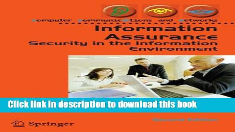 Download Information Assurance: Security in the Information Environment PDF Free