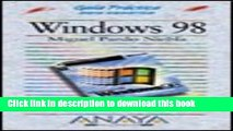 Read Windows 98 - Guia Practica (Guias Practicas Para Usuarios /  Practical Guides for Users)