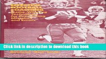 [PDF] Effective Football Coaching: Game-winning Techniques for Preventing Mistakes and Errors