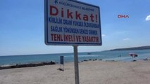 Hafta İçi Olmasına Rağmen Menekşe Plajı Doldu Taştı