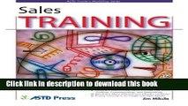 [PDF] Sales Training (ASTD Trainer s Workshop) Read Full Ebook