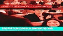 [PDF] Passing the Prince2 Examinations: 2008 Edition Download Full Ebook