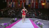 Mundial Rítmica 2011. Final Mazas (4/10) Evgenia Kanaeva