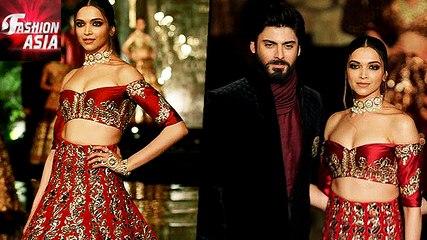 Deepika Padukone And Fawad Khan Looks STUNNING at India Couture week   Fashion Asia