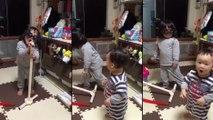 Petit frère vient casser le délire de cette petite chanteuse