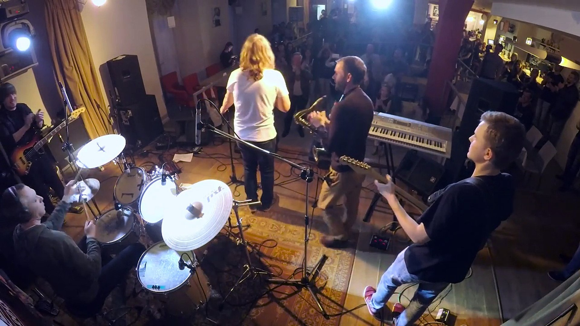 Sting-Englishman In New York ( Преподаватели +музыканты группы Сергея Бабкина+ученик ШР 15)