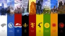 Juego de tronos - Casas, emblemas, blasones y señores (actualizado temporada 6)