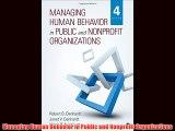 Popular book Managing Human Behavior in Public and Nonprofit Organizations
