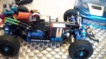 losi 1:24 micro rally brushless super modded