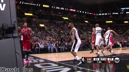 Derrick Rose Full Highlights 2016.03.10 at Spurs - 21 Pts, 6 Assists