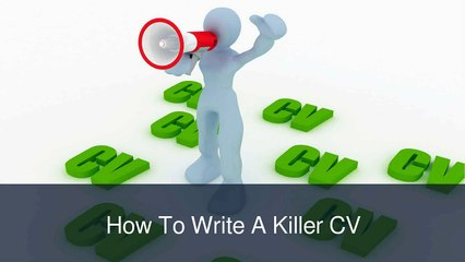 William Almonte Patch - William Almonte Tips For Writing A Killer CV