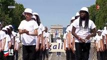 La Marseillaise, chantée par 460 élèves, le 14 juillet sur les Champs Élysées