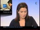Reportage Fr3 Un reseau de pirates informatiques démantelé