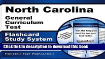Read Book North Carolina General Curriculum Test Flashcard Study System: Practice Questions   Exam
