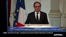 Attentat de Nice : François Hollande défend Bernard Cazeneuve accusé d'avoir menti (Vidéo)