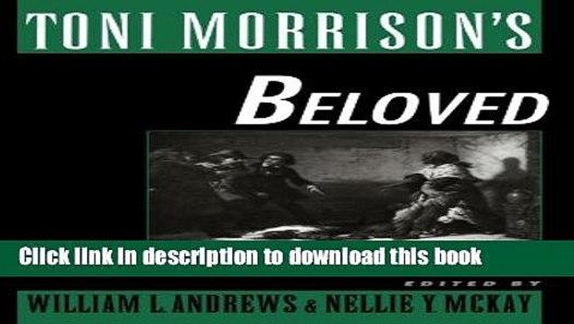 Toni morrison essays pdf