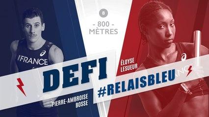 Défi #Relaisbleu n°8 | Pierre-Ambroise Bosse & Eloyse Lesueu