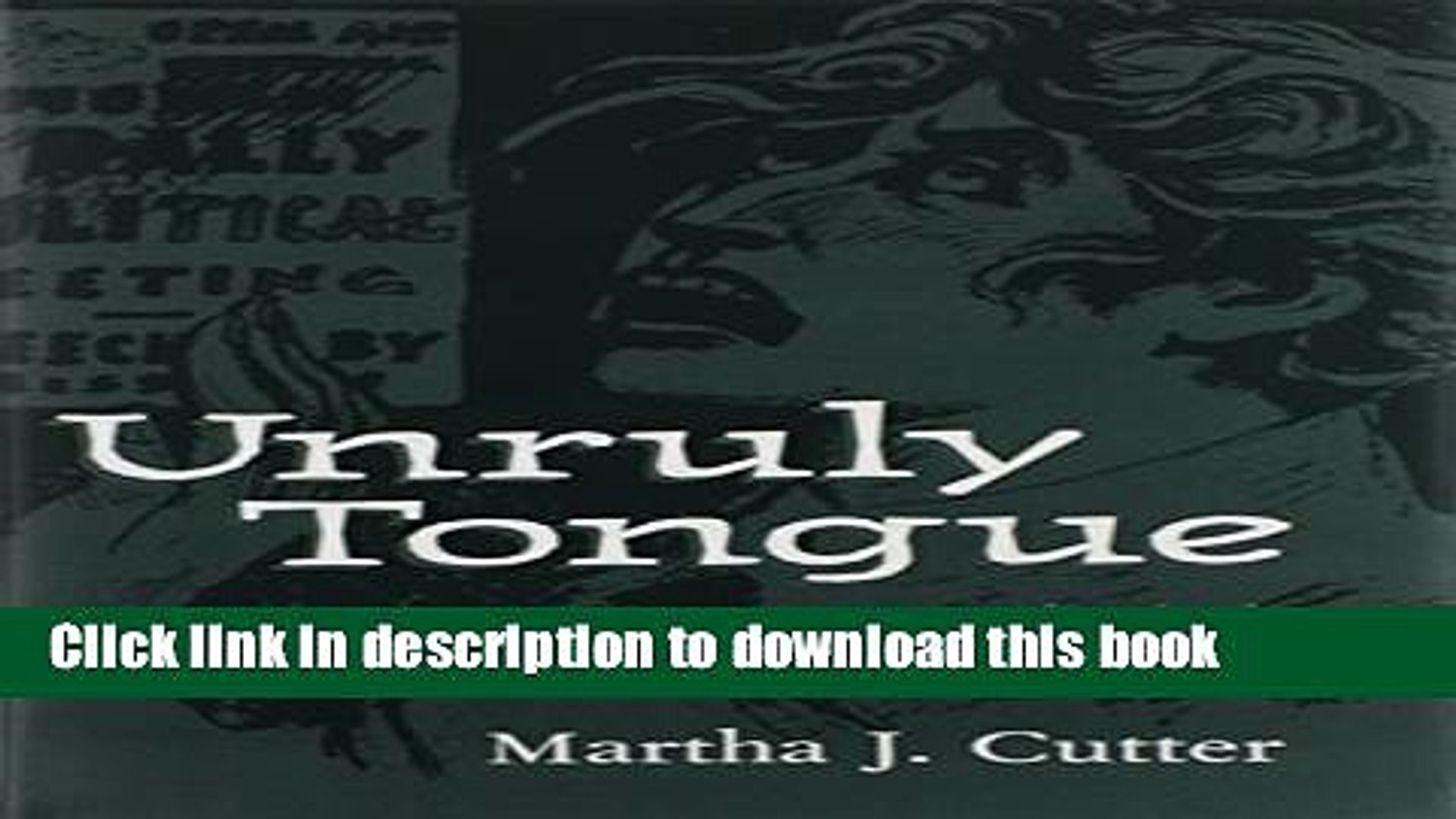 [PDF] Unruly Tongue: Identity and Voice in American Women  s Writing, 1850-1930 [Download] Full