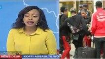 La Télévision Kényane parle de l'affaire Koffi Olomide et ses Danseuses à l'aéroport du Kenya