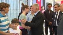 Başbakan Binali Yıldırım Özel Harekat Çıkışında Şehit Ailesine Taziye Ziyaretinde Bulundu