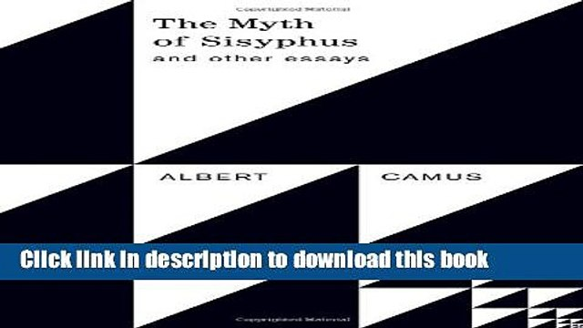 Read Book The Myth of Sisyphus and Other Essays E-Book Free
