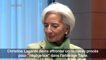 Arbitrage Tapie: Christine Lagarde devra affronter un procès