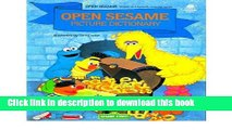 Download Book Open Sesame Picture Dictionary : Featuring Jim Henson s Sesame Street Muppets,