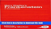 [PDF] Mary Shelley s Frankenstein: A Routledge Study Guide and Sourcebook [Download] Full Ebook