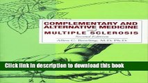 Read Complementary and Alternative Medicine and Multiple Sclerosis  PDF Free