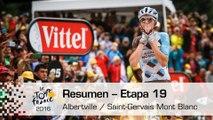 Resumen - Etapa 19 (Albertville / Saint-Gervais Mont Blanc) - Tour de France 2016